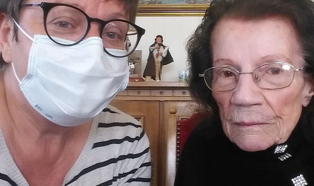 Josiane a peur…mais plus du virus. De l'isolement