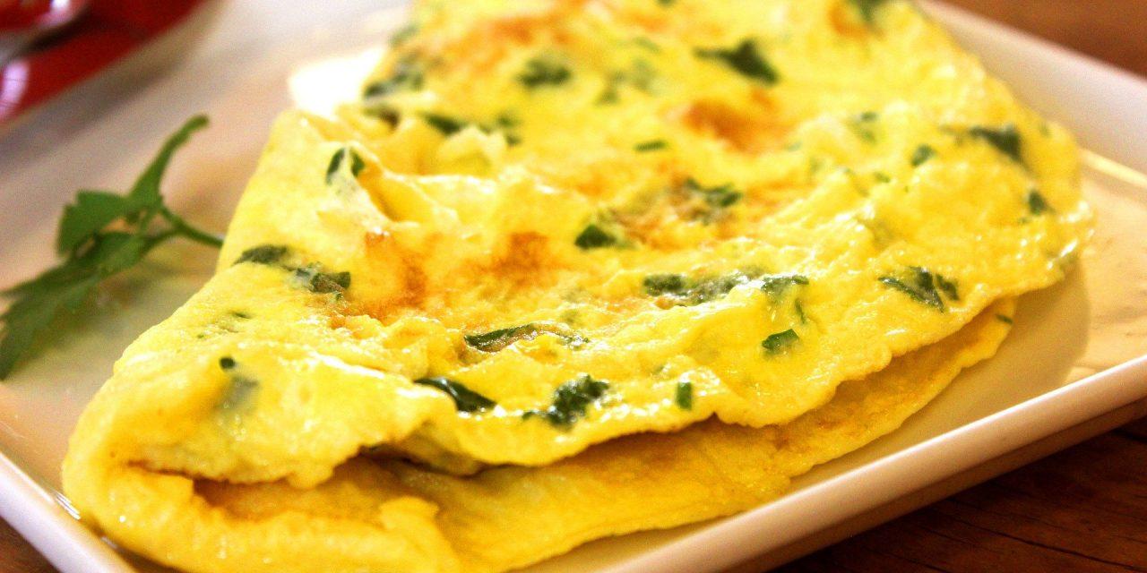 Dernière omelette à l'ail